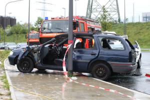 Ein Unfallschaden an einem Auto kann teuer werden.